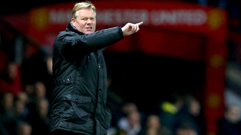 How will Ronald Koeman set up his team?