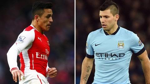 Manchester City vs. Arsenal (Sunday, 11 a.m. ET)