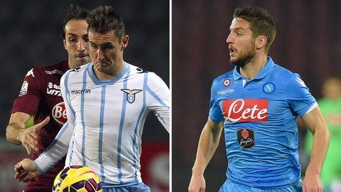 Serie A: Lazio vs. Napoli (Sunday, 6:30 a.m. ET)