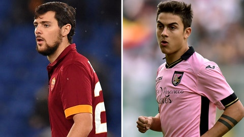 Serie A: Palermo vs. Roma (Saturday, 2:45 p.m. ET)