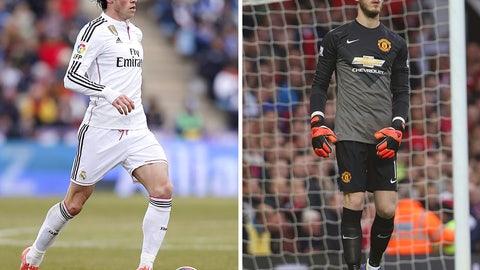 Gareth Bale and David de Gea