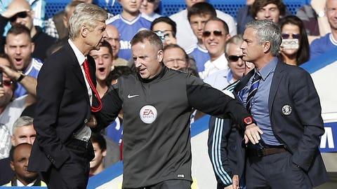 Arsene Wenger vs. Jose Mourinho