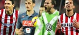 Follow the latest Europa League round of 32 scores