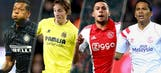 Track all the latest Europa League round of 32 scores