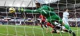 Swansea battle back to complete double against Man United