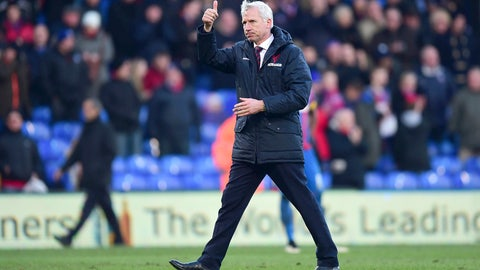 Pardew's return
