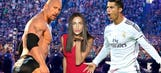 Game on! The Rock wrestles Ronaldo in video-game match (VIDEO)
