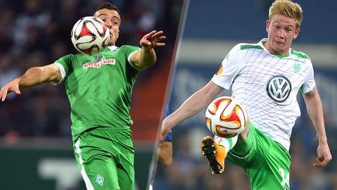Bundesliga: Werder Bremen vs. Wolfsburg (live, Sunday, 11 a.m. ET)