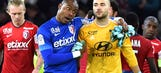Lyon suffer league title setback following stunning loss at Lille