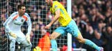 Murray hero and villain as Palace beat London rivals West Ham