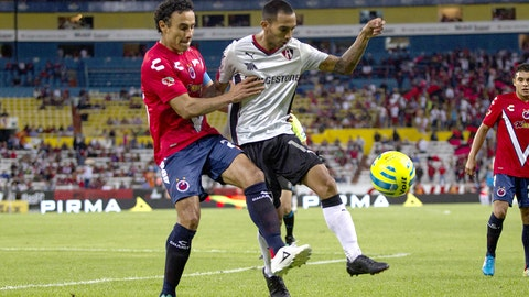 Edgar Castillo, Atlas defender