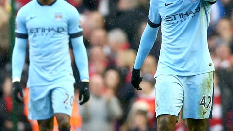 Manchester City hit the skids