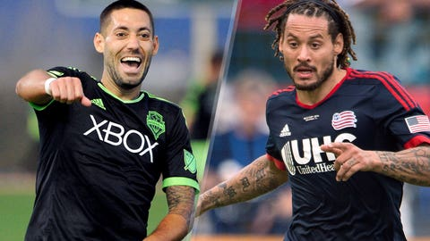 Major League Soccer: Seattle Sounders vs. New England Revolution (live, Sunday, 9:30 p.m. ET)