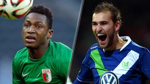 Bundesliga: Augsburg vs. Wolfsburg (live, Saturday, 9:30 a.m. ET)
