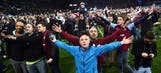 Pitch invasion at Villa Park cup tie to be investigated by FA