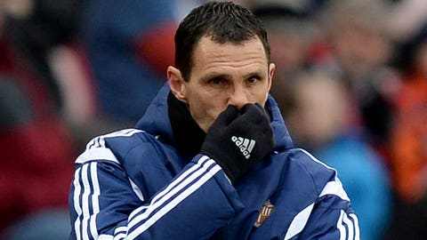 Gus Poyet's time runs out on Wearside