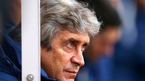 Manuel Pellegrini and City sleepwalking towards the exit