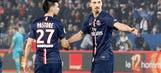 Zlatan Ibrahimovic gets a little overprotective of game balls