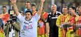 At it again? Diego Maradona kicks steward at 'Match for Peace'