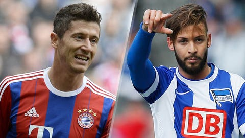 Bundesliga: Bayern Munich vs. Hertha Berlin (live, Saturday, 12:30 p.m. ET)