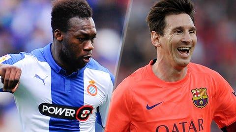 La Liga: Espanyol vs. Barcelona (live, Saturday, 10 a.m. ET)