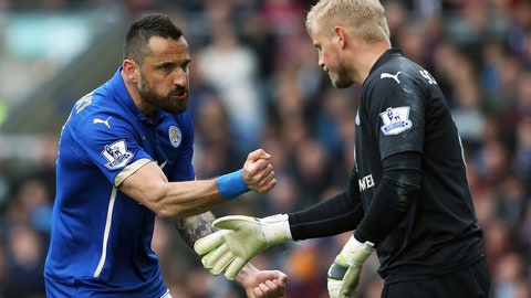 Leicester City clamber out of relegation zone, for now