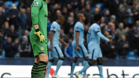 Brad Guzan's miserable year gets worse