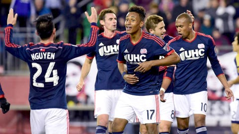 Depth allows New England to mix and match to perfection