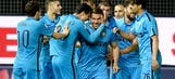 Inter Milan climb to seventh place with win over nine-man Udinese