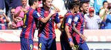 Barca steamroll relegation-bound Cordoba to continue title march