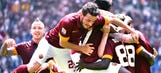 Doumbia, Florenzi fire Roma to victory over Genoa in Serie A