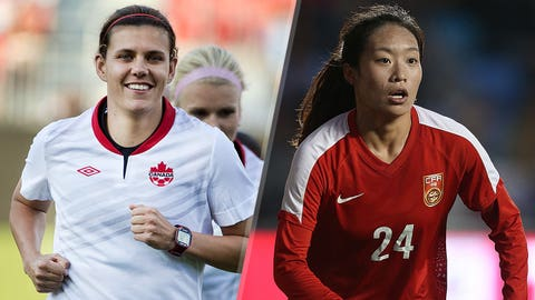 Opening game: Canada host China in Edmonton on June 6