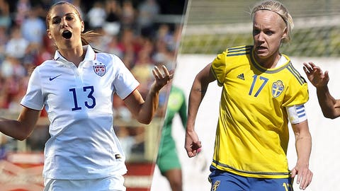Battle of titans: United States face Sweden in Group D super clash