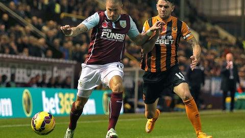 Premier League: Hull City vs. Burnley (live, Saturday, 10 a.m. ET)