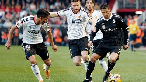 La Liga: Real Madrid vs. Valencia (live, Saturday, 2 p.m. ET)