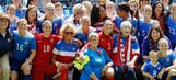 Heartwarming surprise for U.S. women's team: arrival of soccer moms