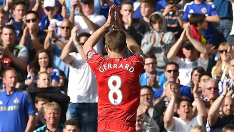 Goodbye, Steven Gerrard