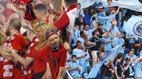 Long-awaited meeting between Red Bulls, NYCFC delivers in spades