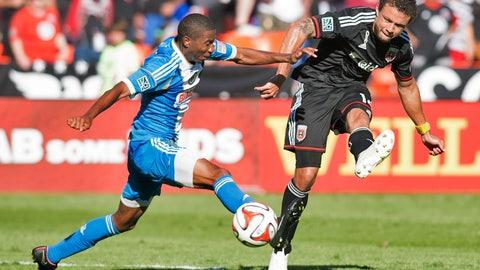Major League Soccer: D.C. United vs. Philadelphia Union (live, Sunday, 5 p.m. ET)