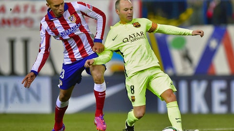 La Liga: Atletico Madrid vs. Barcelona (live, Sunday, 1 p.m. ET)