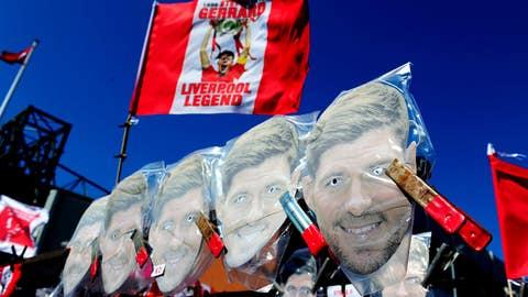 Gerrard hits the street