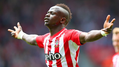 Sadio Mane, hat-trick hero