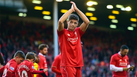 Steven Gerrard's miserable farewell