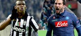 Live: Serie A champions Juventus host Champions League chasers Napoli