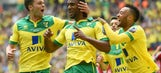 Norwich back in Premier League after beating Middlesbrough