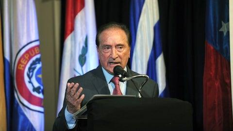 Eugenio Figueredo, 83, Uruguay