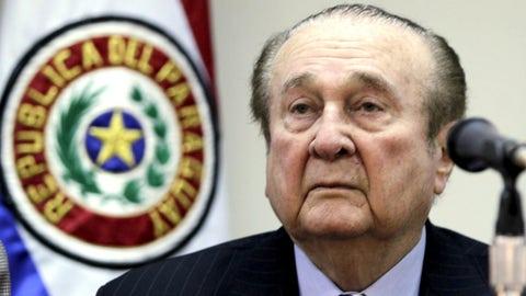 Nicolas Leoz, 86, Paraguay