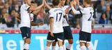 Prolific Kane secures friendly win for Tottenham against Sydney
