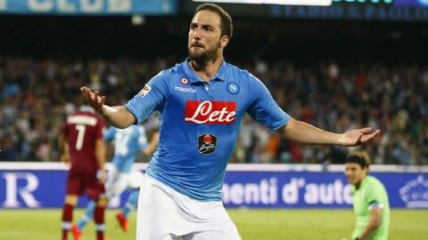 Gonzalo Higuain, Forward, Napoli