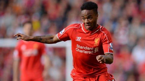 Raheem Sterling, Winger/Forward, Liverpool